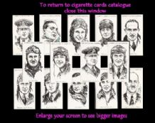 Cigarette cards Famous British Airmen & Airwomen 1935